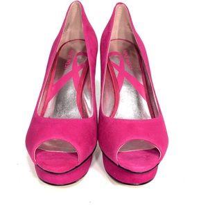 Nine West Shoes - Nine West Women's Open Toe Platform Pumps Shoes